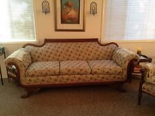 Duncan Phyfe Couch With Matching Chair