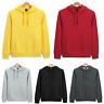 Men's New Hooded Sweatshirt Coat Plain Design Hoodie Blank Jacket Pullover Hoody