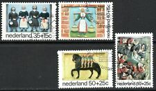 1975 Netherlands Child Care Charity Stamps Set of 4 Fine Used