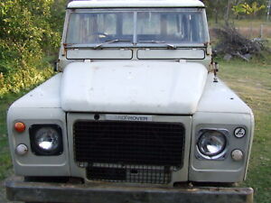 Land Rover Series 3 V8 stage 1 109 Station Wagon Runs Rare Rusty