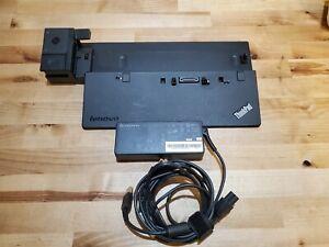 Genuine Lenovo ThinkPad Ultra Dock 40A2 Docking Station w/ 90w A/C Adapt No Key