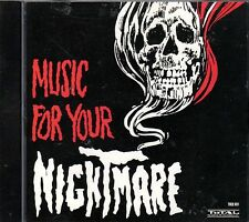 MUSIC FOR YOUR NIGHTMARE: EERIE HALLOWEEN MUSIC with SOUND EFFECTS Vintage 1989!