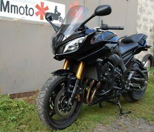 YAMAHA FZ8, FAZER8 ENGINE GUARD CRASH BARS BLACK YAMAHA BIKE BIKER MOTORCYCLE