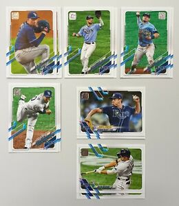Carte de Baseball Topps - Tampa Bay Rays Players (20) - Kevin Kiermaier