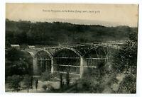 CPA 01 Ain Pont de Pyrimont sur le Rhône