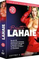COFFRET BRIGITTE LAHAIE 6 DVD   NEUF SOUS CELLOPHANE