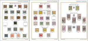 Western Australia State Stamp Album - 1854-1912 to print