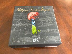 Montblanc BOX Wolfgang Amadeus Mozart Sir Neville Marriner Box ( NO PEN )