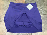 0421 TRANQUILITY Small Purple/Blue Tennis Golf Skirt Skort NWT B