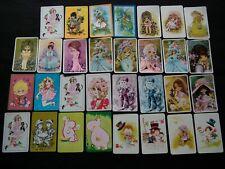 VINTAGE SWAP CARDS - PRETTY GIRLS