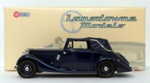 Lansdowne Models 1/43 Scale LDM47 - 1936 Railton Fairmile 3 Position DHC - Blue