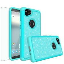 Google Pixel 2 / 2 XL Case Glitter Bling w/ HD Screen Protector Cover Cases