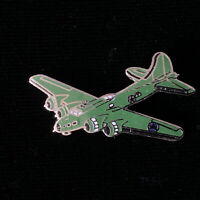 1980's Vintage WWII B-17 Flying Fortress Bomber (Large) hat push pin, lapel