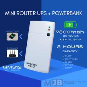Uninterruptible Power Supply for Router