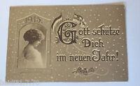 """""""Neujahr, Frauen, Fahne"""" 1915 ♥ (30320)"""