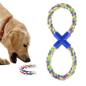 Cotton Braided Teeth Molar Ropes Chew Knot Playing Fetch Funny Toys Pets Puppy