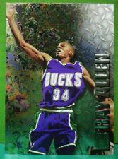 Ray Allen rookie subset card 1996-97 Fleer Metal #186