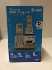 AT&T EL52203 2 Handset Cordless Digital Answering System w/ Caller ID / Waiting
