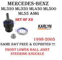 Mercedes w140 Ball Joint L+R KARLYN Spindle to Low Control Arm Front x2