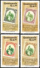 Guatemala 2000 Stamp-on-Stamp/Birds/Postal History/Philately 4v set (n45694)