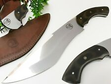 "LOUIS SALVATION CUSTOM HANDMADE D2 STEEL HUNTING BOWIE KNIFE 17.5""MICARTA HANDLE"