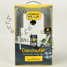 OtterBox Commuter 2-Layer Hard Motorola Moto E 2nd Gen Case Cover (White/Gray)