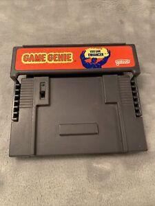 Game Genie Video Game Enhancer Super Nintendo SNES Original