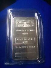 10 oz. Silver Bar - NTR Metals .999 Fine Ten
