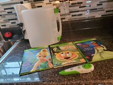 Lot of 3 Leap Frog Tag READER Interactive Hardcover Books w/ Pen & Case