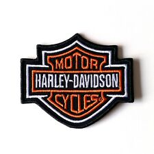 Harley Davidson patch écusson Bar & Shield 8,2 x 7 cm