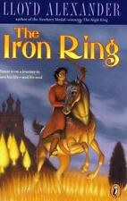 The Iron Ring by Lloyd Alexander (1999 Puffin Paperback)  HH2734