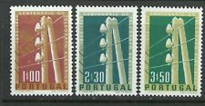 Portugal 1955 - 100 Years Electric Telegraph set MNH