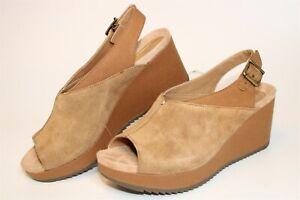 Vionic Womens Size 10 M 42 Trixie Wedge Platform Slingback Comfort Shoe 10010569