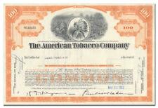 American Tobacco Company Stock Certificate