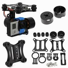 2 Axis CNC Aluminum Brushless Camera Mount Gimbal Kit For Gopro DJI Phantom FPV