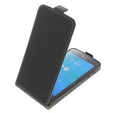 funda para Asus ZenFone 5 Smartphone Estilo Flip Protectora Negra