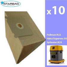 Vac Bag-Pullman AS5,10 per pack, Ghibli AS5, Hako supervac 50, Spitwater AS5