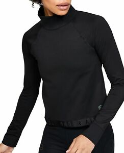 Under Armour ColdGear Rush Long Sleeve Womens Training Top - Black