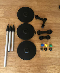 Rock Band 3 4 Pro Cymbal Universal Expansion Kit PS3 PS4 Xbox Wii Complete