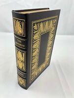 Easton Press ~ 100 Greatest ~ The Republic of Plato ~ Leather ~ Very Good