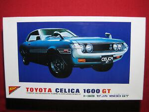 1970 Toyota Celica 1600 GT Nichimo 1/20 Motorized Model Kit Vintage Rare Car