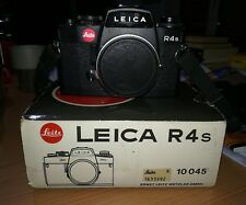 Leica R4s Black body only nera solo corpo