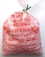 Le serail - Sac de Copeaux de savon de Marseille parfumés Rose 750G