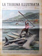 La Tribuna Illustrata 24 Settembre 1933 Torino Camicie Nere Carnera Beccali Cuba
