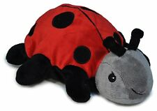 "Cloud B Twilight Ladybug Soothing Puppet 9"" Hand Puppet Hot/Cold Pack"