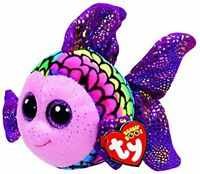 TY BEANIE BOOS FLIPPY PESCE FISH 15 CM T 37242 NEW 2017