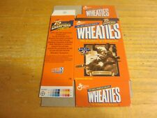 Jackie Robinson Commemorative 1996 Mini Wheaties Box MLB Baseball Dodgers
