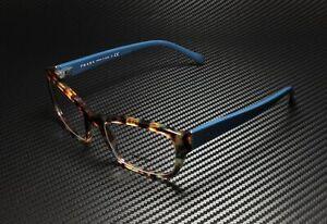 PRADA Heritage PR 18OV NAG1O1 Havana Sptd Blue Demo Lens 54mm Women's Eyeglasses