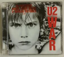 "U2 War CD UK Edición remasterizada 2008 ""sticker"" en portada"