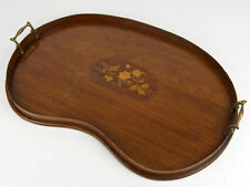 Victorian Antique Wooden Trays